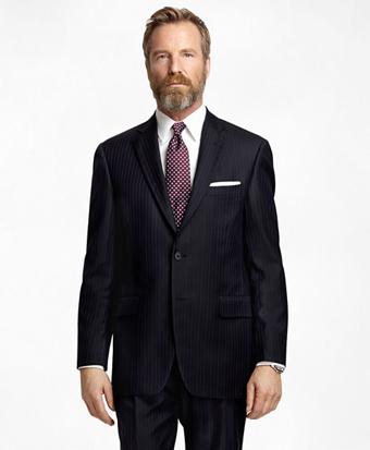 Madison Fit Bold Alternating Stripe 1818 Suit