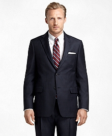Madison Fit Plaid Windowpane 1818 Suit