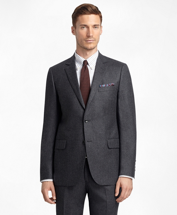 Fitzgerald Fit Flannel 1818 Suit Charcoal