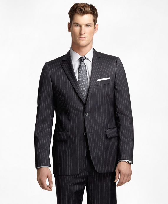 Fitzgerald Fit Micro Bead Stripe 1818 Suit Navy