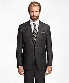 Regent Fit Saxxon Wool Plaid with Deco 1818 Suit