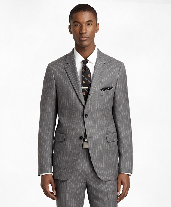 Cambridge Rope Stripe 1818 Suit Grey