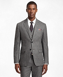 Milano Fit Donegal Tweed Three-Piece 1818 Suit