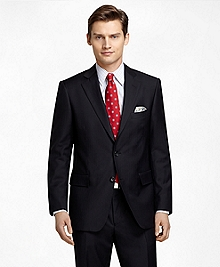 Regent Fit Black Mini Bead with Shadow Stripe 1818 Suit