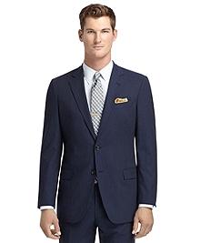 Fitzgerald Fit Blue Mini Rope Stripe BrooksCool® Suit