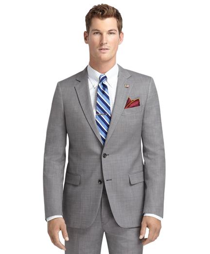 Fitzgerald Fit Saxxon™ Wool Grey Nailhead 1818 Suit