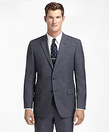 Fitzgerald Fit Navy Houndstooth 1818 Suit