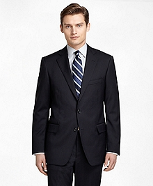 Regent Fit Black Shadow Stripe 1818 Suit