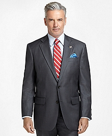 Madison Fit Saxxon Wool Light Blue Stripe 1818 Suit