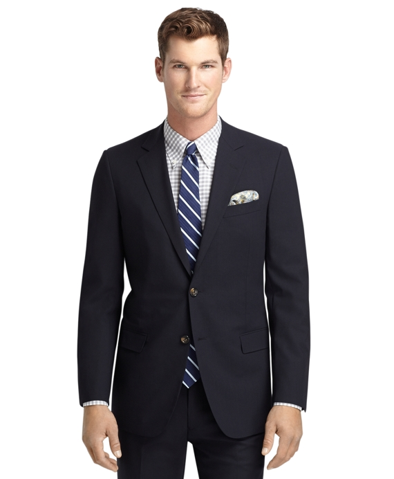 Fitzgerald Fit BrooksCool® Navy Solid Suit Navy