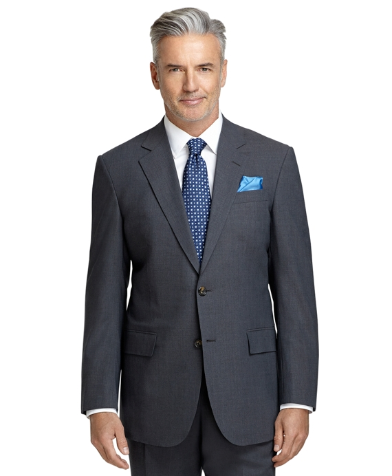 Madison Fit BrooksCool® Grey Solid Suit Grey