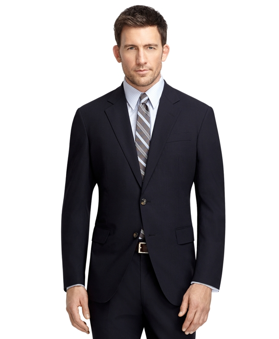 Madison Fit BrooksCool® Navy Solid Suit Navy