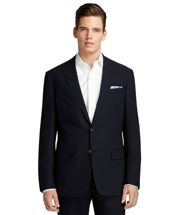 Regent Fit BrooksCool® Navy Solid Suit Navy