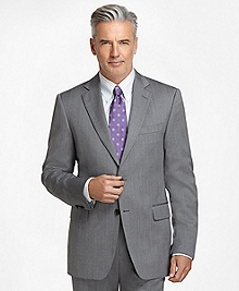 Madison Fit Grey Herringbone 1818 Suit