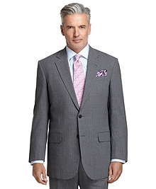 Madison Fit Light Grey with Blue Bead Stripe BrooksCool® Suit