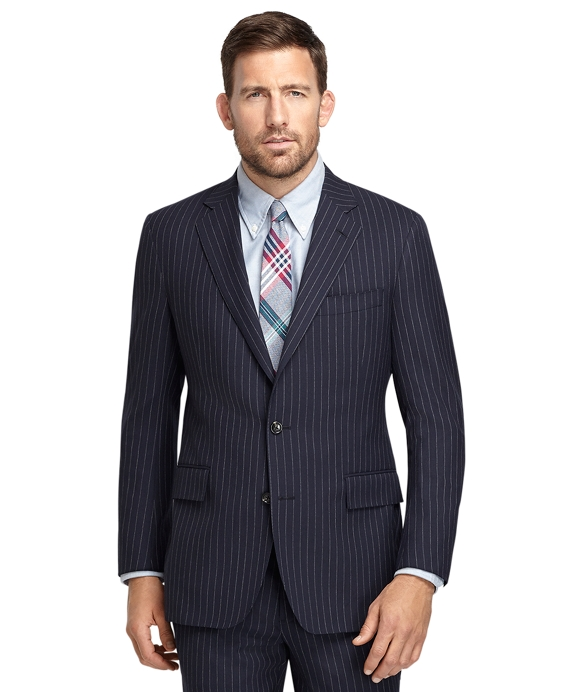 Regent Fit Chalkstripe 1818 Suit Navy