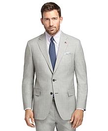 Regent Fit Black and White Plaid 1818 Suit
