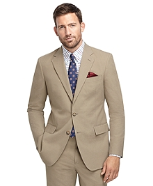 Regent Fit Khaki Seersucker 1818 Suit