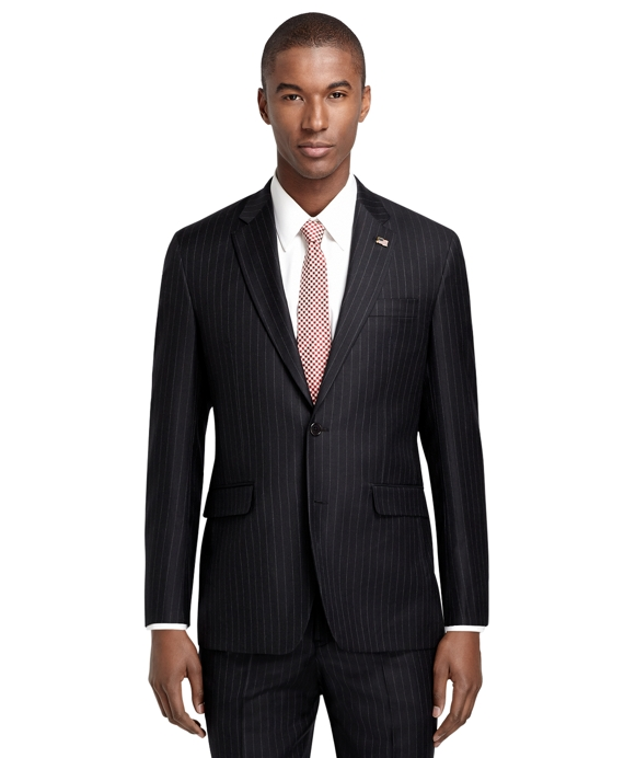Milano Fit  Grey Stripe 1818 Suit Grey