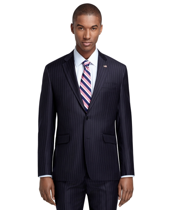 Milano Fit Navy Stripe 1818 Suit Navy