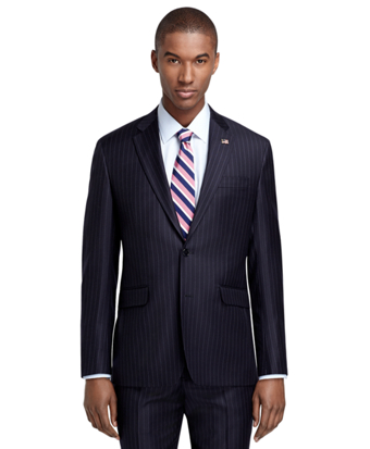 Milano Fit Navy Stripe 1818 Suit