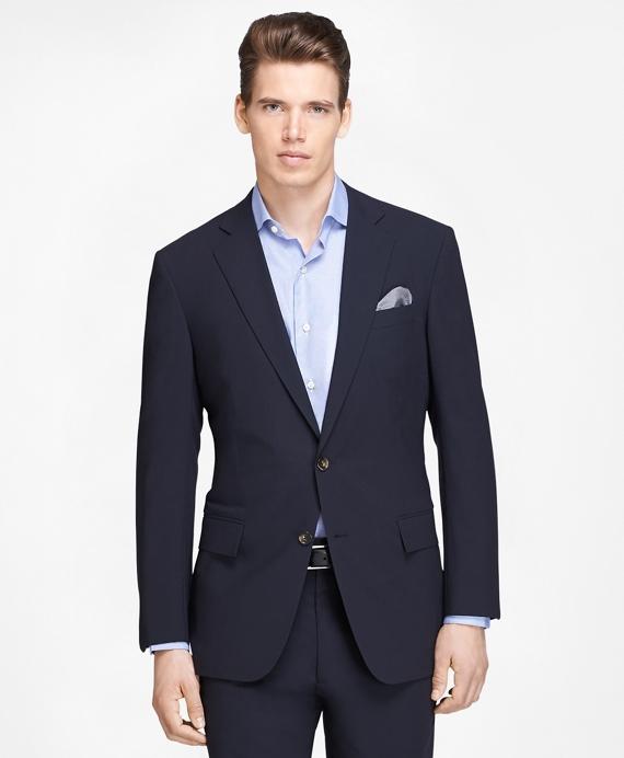 Regent Fit BrooksCool® Navy Suit Navy