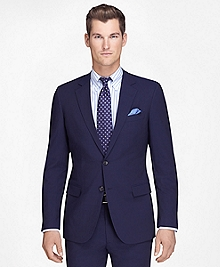 Fitzgerald Fit Navy Mini Bead Stripe BrooksCool® Suit