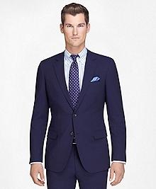 Fitzgerald Fit Navy Mini Bead Stripe BrooksCool® Suit
