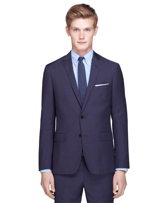 Navy Tic Suit Jacket Navy