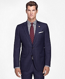 Fitzgerald Fit Saxxon Plaid Deco 1818 Suit
