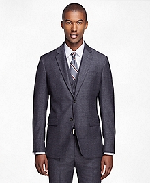Milano Fit Three-Piece Houndstooth 1818 Suit