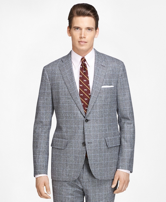 Men's Vintage Style Suits, Classic Suits Own Make Plaid Suit $649.00 AT vintagedancer.com