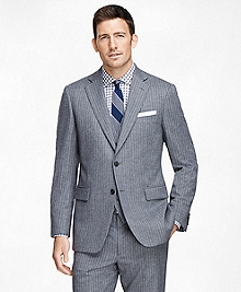 Madison Fit Three-Piece Stripe 1818 Suit