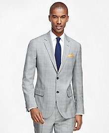 Milano Fit Plaid with Windowpane 1818 Suit