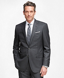 Madison Fit Golden Fleece® Wool Double Stripe Suit