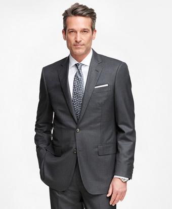 Madison Fit Golden Fleece® Wool Double Stripe Suit