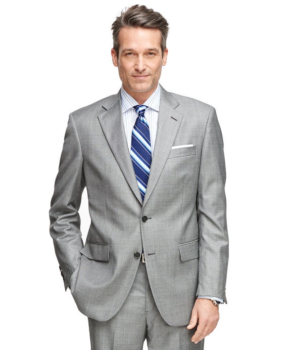 Madison Fit Saxxon Wool 1818 Suit Grey