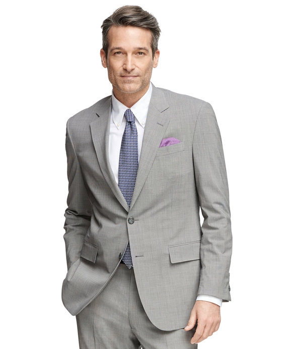 Madison Fit BrooksCool® Grey Tic Suit Grey