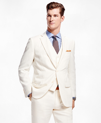 Fitzgerald Fit Three-Piece Linen Suit