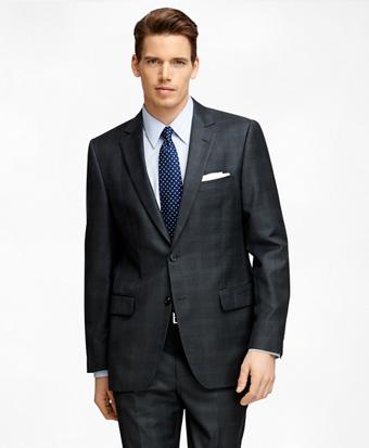 Fitzgerald Fit Plaid 1818 Suit