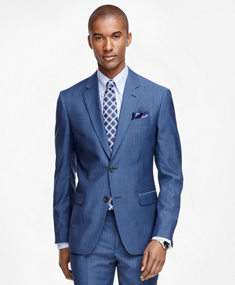 Milano Fit Tic Stripe 1818 Suit