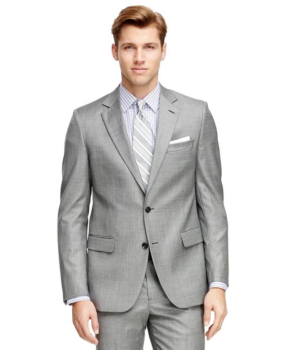 Fitzgerald Fit Saxxon Wool 1818 Suit Grey