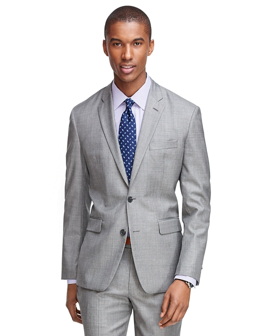 Milano Fit Saxxon Wool 1818 Suit Grey