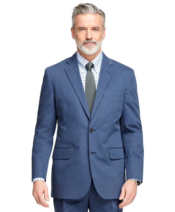 Madison Fit Twill Suit Blue