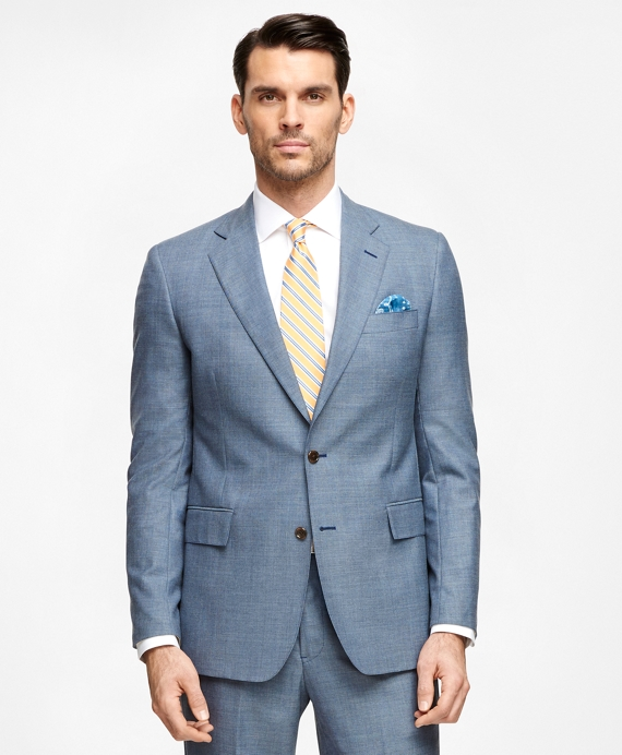 Regent Fit Own Make Suit Blue