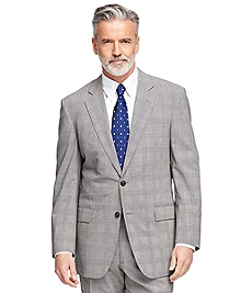 Madison Fit BrooksCool® Plaid Suit