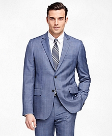 Fitzgerald Fit Blue Plaid 1818 Suit