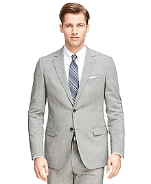 Fitzgerald Fit BrooksCool® Plaid Suit