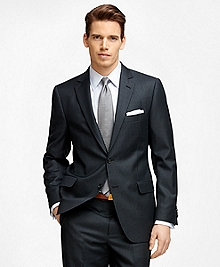 Fitzgerald Fit Blue and White Stripe 1818 Suit