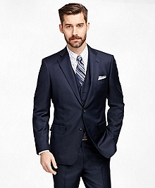 Regent Fit Three-Piece Mini Tattersall 1818 Suit